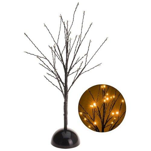 Светящееся деревце ОБИТЕЛЬ СВЕТЛЯЧКОВ, 32 тёплых белых LED-огня, 40 см, батарейки, Koopman International