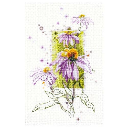 Купить Чудесная Игла Набор для вышивания Эхинацея 14 х 23 см (100-101), Наборы для вышивания