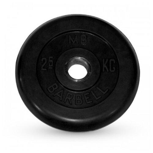 Фото - Диск MB Barbell Стандарт MB-PltB31 2.5 кг черный диск mb barbell mb atletb26 25 кг черный