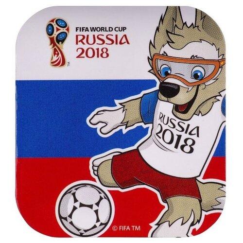 Магнит MILAND FIFA 2018 - Забивака Улыбайся! Триколор брелок 2018 fifa world cup russia забивака сн004 белый красный