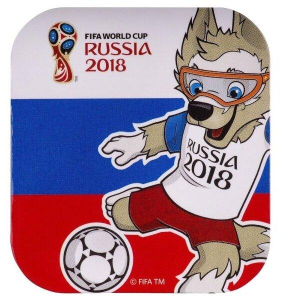 Магнит MILAND FIFA 2018 - Забивака Улыбайся! Триколор