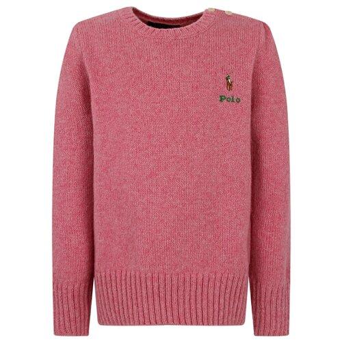 Купить Джемпер Ralph Lauren размер 122, розовый, Свитеры и кардиганы