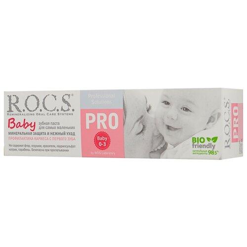 Купить Зубная паста R.O.C.S. PRO Baby 0-3 лет, 45 г, Гигиена полости рта