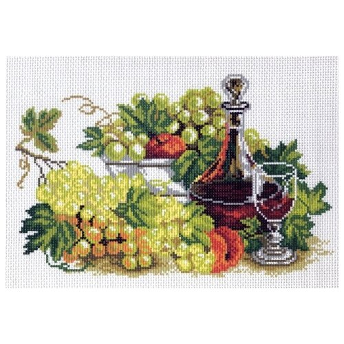 Купить Натюрморт с виноградом Рисунок на канве 28/37 28х37 (18х27) Матренин Посад 747, Матрёнин Посад, Канва