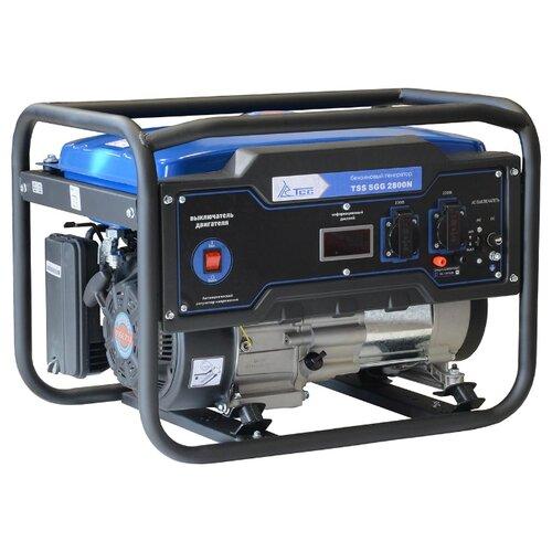 Фото - Бензиновый генератор ТСС SGG 2800N (2800 Вт) бензиновый генератор тсс sgg 5000 eh 5000 вт