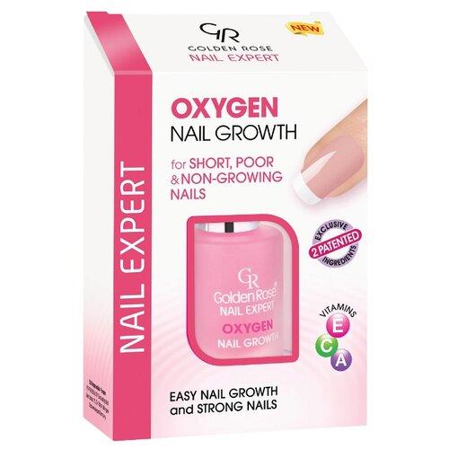 Средство для роста ногтей Golden Rose Nail Expert Oxygen Nail Growth, 11 мл, бесцветный