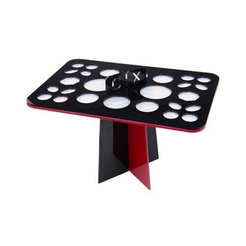 Подставка Irisk Professional для сушки кистей, 26 ячеек, для кистей черный/красный недорого