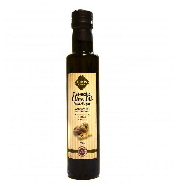 Evros Масло оливковое Agrinio с чесноком