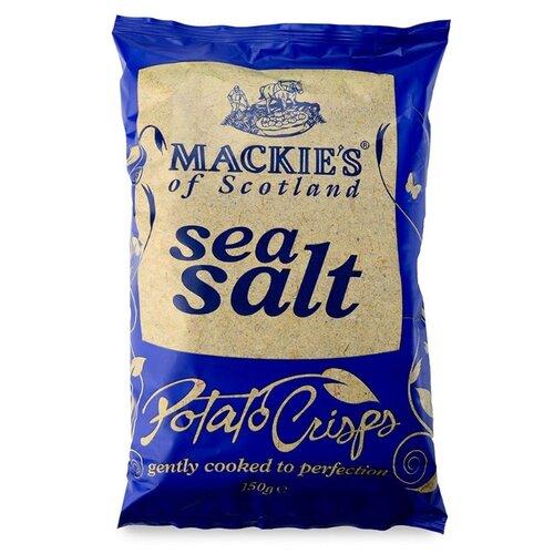 Чипсы Mackie's картофельные с морской солью, 150 г