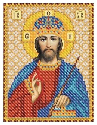 Канва для вышивания с рисунком NOVA SLOBODA Христос БИС-5061 13 х 18 см