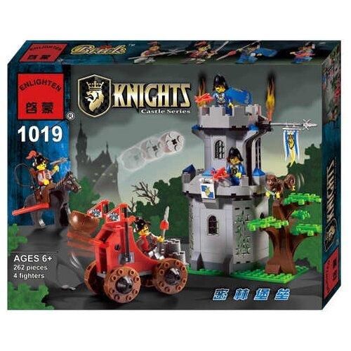 Купить Конструктор Qman Knights 1019 Лесное укрепление, Конструкторы