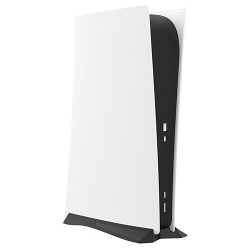 Вертикальная подставка-стенд MyPads для игровой консоли Playtstation 5 без дисковода для охлаждения приставки белый