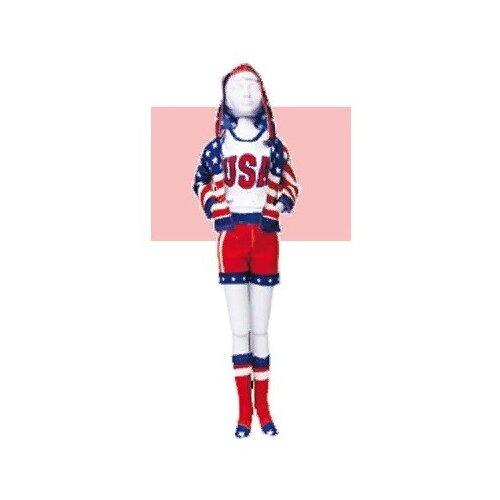 Купить Набор для изготовления игрушек DressYourDoll Одежда для кукол №4. Sporty Stars''n Stripes , арт. S412-0204, Dress your Doll, Изготовление кукол и игрушек