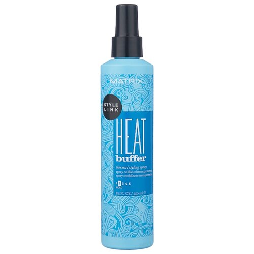 Matrix Термозащитный спрей для волос Style link Heat buffer, средняя фиксация, 250 мл спрей для волос matrix matrix mp002xw11wbz
