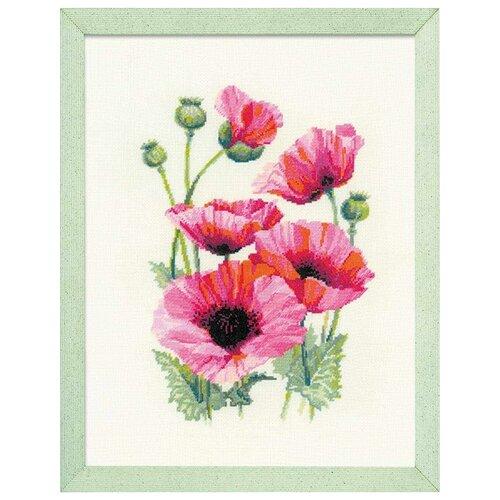 Риолис Набор для вышивания 1775 Розовые маки риолис набор для вышивания 1775 розовые маки