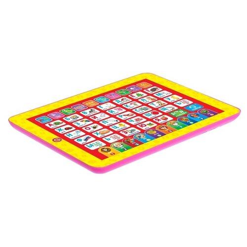 Купить Планшет Zabiaka Первые знания (3986204) желтый/красный, Детские компьютеры
