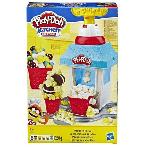 Масса для лепки Play-Doh Попкорн-вечеринка (E5110) play doh play doh малыши динозаврики