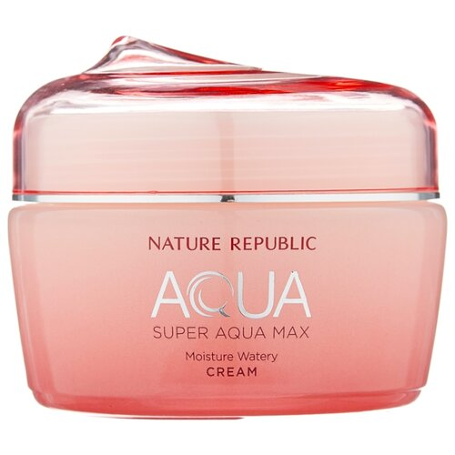 NATURE REPUBLIC AQUA Super Aqua Max Moisture Watery Cream Крем-гель для лица, 80 мл косметика super aqua