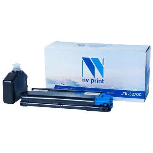 Фото - Картридж NV Print TK-5270 Cyan для Kyocera, совместимый картридж nv print tk 8335 cyan для kyocera совместимый