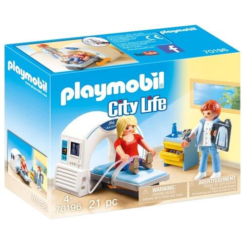 Купить Набор с элементами конструктора Playmobil City Life 70196 Рентгенолог, Конструкторы