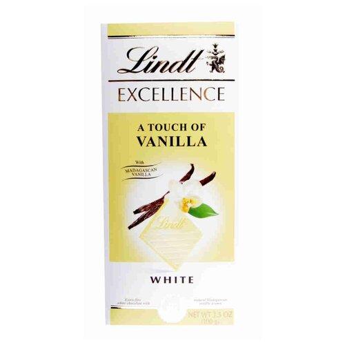 Фото - Шоколад Lindt Exellence белый с ванилью 20%, 100 г шоколад lindt excellence темный с чили 100 г