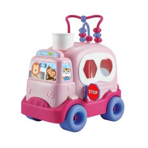 Фото - Сортер Elefantino Школьный автобус (IT106265 / IT106264) plantoys сортер каталка plan toys автобус