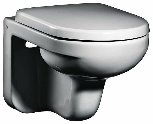 Чаша унитаза подвесная Gustavsberg Artik GB114330201231 с горизонтальным выпуском