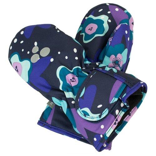 Варежки Huppa размер 3, 81986 navy pattern варежки детские huppa liina цвет синий 8104base 60035 размер 5