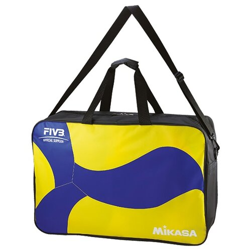 Сумка для переноски волейбольных мячей Mikasa AC-BG260W-YB, желтый/синий