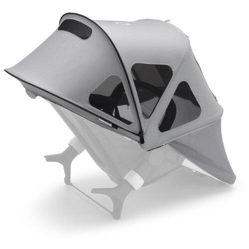 Купить Bugaboo Капюшон от солнца Breezy для коляски Fox 2/Cameleon 3/Lynx misty grey, Аксессуары для колясок и автокресел