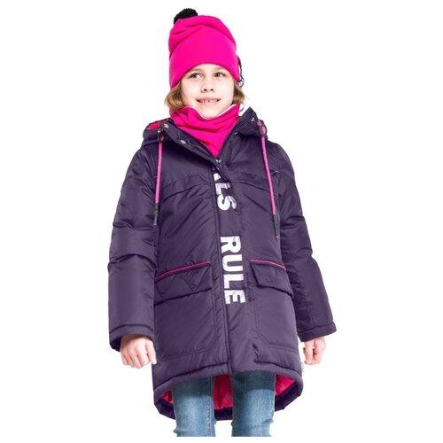 Пальто BOOM! by Orby 90701 размер 116, фиолетовый фото