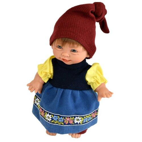 Кукла Lamagik Гном девочка улыбается, 18 см, 134