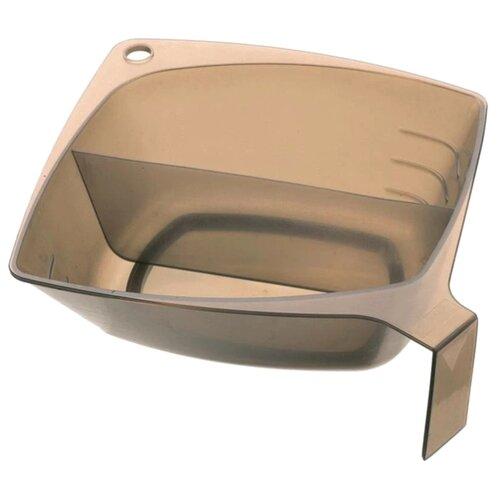 Купить DEWAL Чаша для окрашивания квадратная T-1222 600 мл черный/коричневый