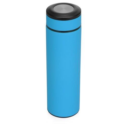 Термос «Confident» с покрытием soft-touch 420мл, голубой
