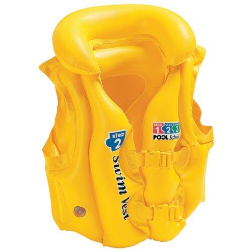 Жилет для плавания Intex 58660 желтый