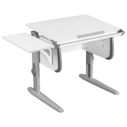 Купить Стол ДЭМИ White-Стандарт СУТ-24-01К 100x55 см белый/серый/серый, Парты и столы