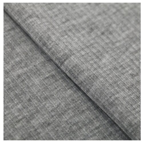 Ткань Арт Узор для пэчворка трикотажная 50 × 50 см серый меланж набор для творчества арт узор ткань для пэчворка трикотаж коралловый 50 50см