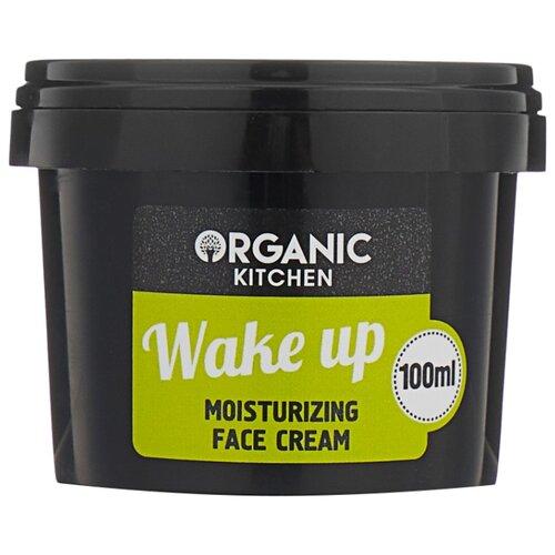 Organic Shop Organic Kitchen Wake Up крем-увлажнение для лица, 100 мл крем для лица body shop