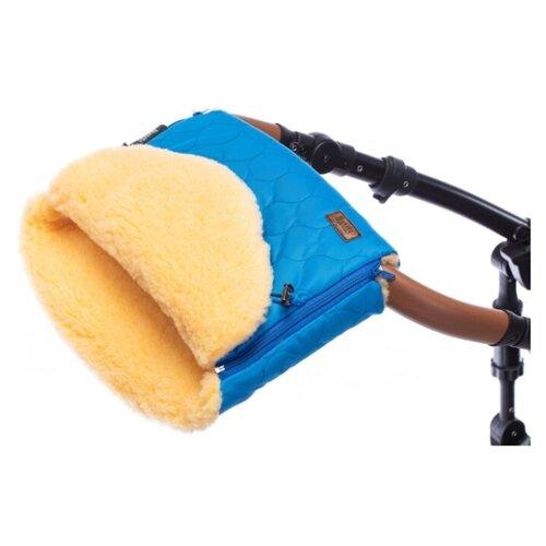 Купить Муфта меховая для коляски Nuovita Polare Pesco (Marino/Морской), Аксессуары для колясок и автокресел