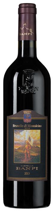 Вино Castello Banfi Brunello di Montalcino, 2013, 0.75 л