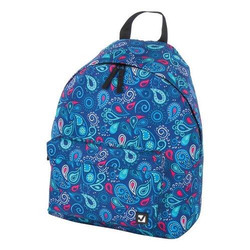 городской рюкзак 18209 синий Городской рюкзак BRAUBERG Восточный узор, синий