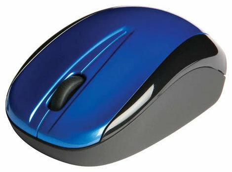 Мышь Verbatim Wireless Laser NanoMouse Blue USB