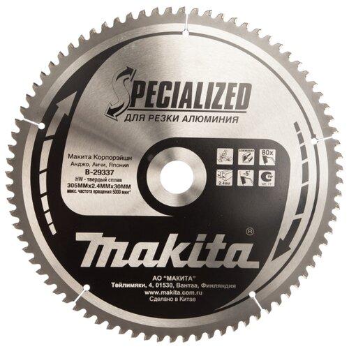 Пильный диск Makita Specialized B-29337 305х30 мм пильный диск makita standart b 29309 305х15 8 мм