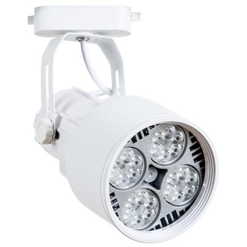 Трековый светильник-спот Arte Lamp Lyra A6252PL-1WH светильник трековый 1 e27 40вт 230в металл arte lamp lyra a6252pl 1wh крашеный пластик белый