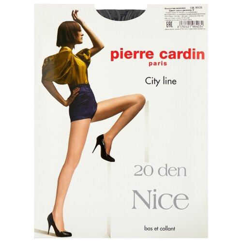 Колготки Pierre Cardin Nice, City Line 20 den, размер II-S, nero (черный)