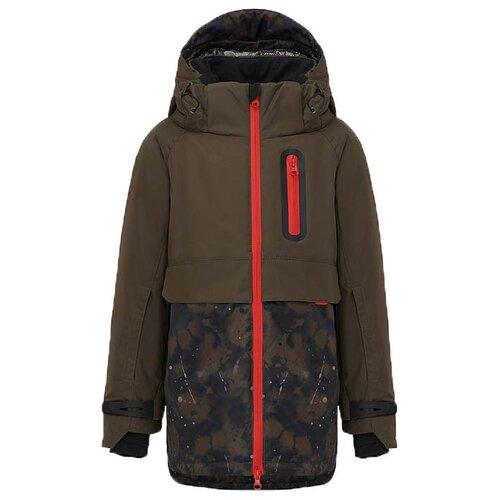 Купить Куртка Oldos размер 170, зелeный, Куртки и пуховики