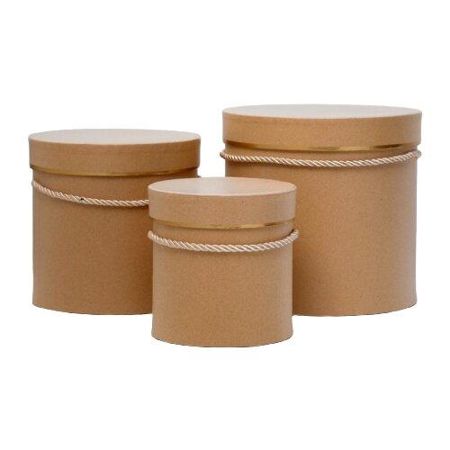 Фото - Набор подарочных коробок Yiwu Xuxing Crafts Геометрия, 3 шт. кремовый набор подарочных коробок tai an baoli paper product co ltd фауна 17 шт желтый