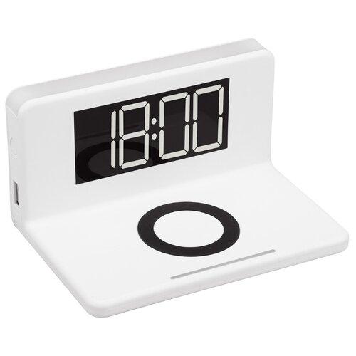 Часы настольные MAX M10 белый