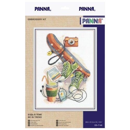 Купить PANNA Набор для вышивания Будь в теме 23.5 x 31.5 см (CE-7149), Наборы для вышивания