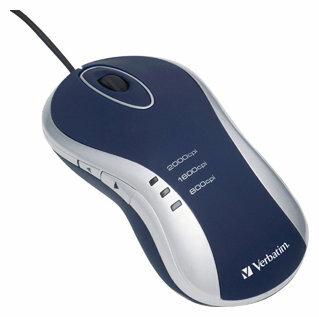 Мышь Verbatim Laser Desktop Mouse Black-Silver USB